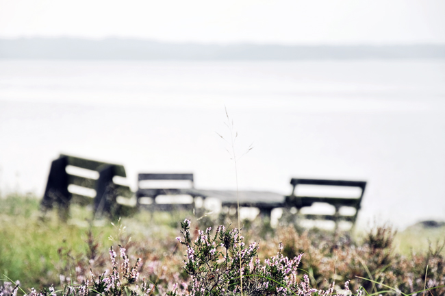 sittplats vid havet