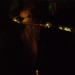 A journey to the center of the Earth at the kocjan Caves (Bn) Tags: world park bridge heritage archaeology nature river giant underground geotagged hall topf50 crossing treasure sink natural blind earth great deep rocky reserve biosphere center canyon unesco caves slovenia journey valley chamber mysterious limestone classical gorge cave lordoftherings jules walls slovenija stalagmite exploration prehistoric karst topf100 mala sinkhole dolina jame entrances jama cerkvenik verne reka skocjanske doline velika cerknica 100faves 50faves kocjan zavod regiona kocjanske javni dolinel geo:lon=13991749 geo:lat=45664877