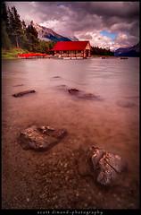 Maligne Lake (Scott Dimond) Tags: jasper malignelake canadianrockies scottdimond