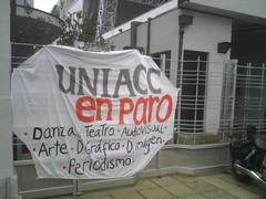 En Uniacc dando charla sobre EduSup a Carreras en Paro by manuel guerrero