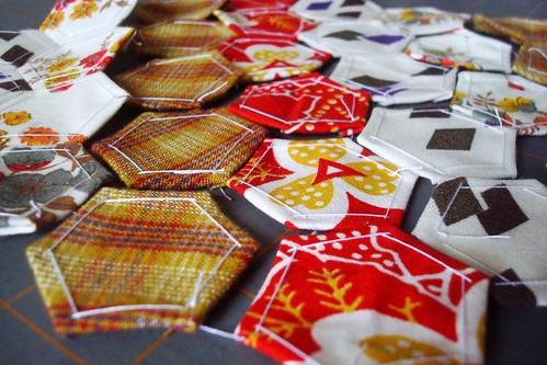 Paper pieced trivet