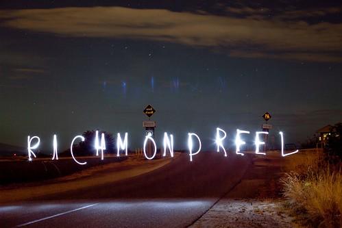 The Richmond Reel Light Art