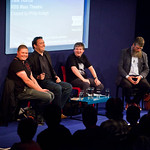 Darren Shan, Barry Hutchison, Alexander Gordon Smith and Philip Ardagh