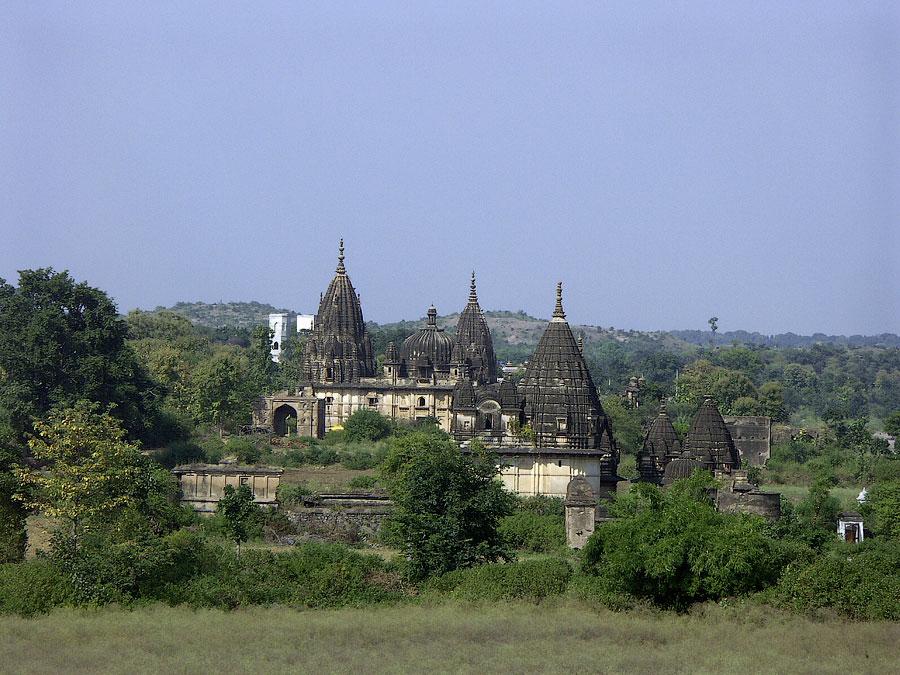 Храм Чатурбхудж. Орчха, Мадхья Прадеш, Индия © Kartzon Dream - авторские путешествия, авторские туры в Индию, тревел видео, фототуры