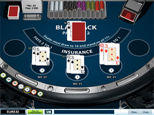 Blackjack Surrender 3 Hand game