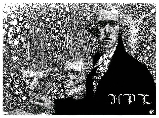 Virgil Finlay - 68, HP Lovecraft