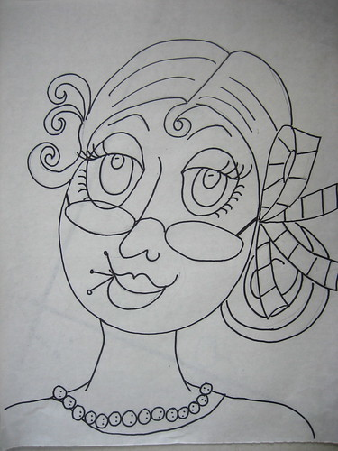 #4 drawing in Ladies Series