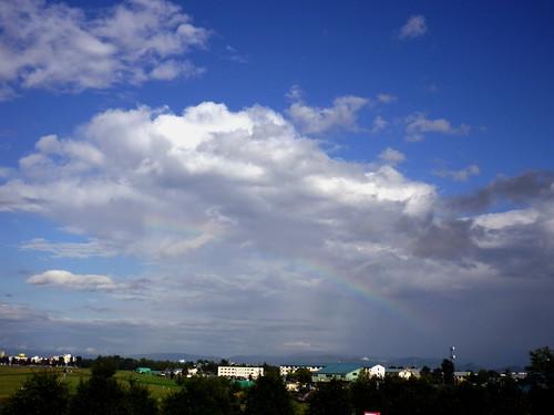 3時22分の虹