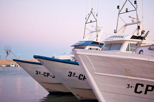 El Puerto Pesquero de Peñiscola