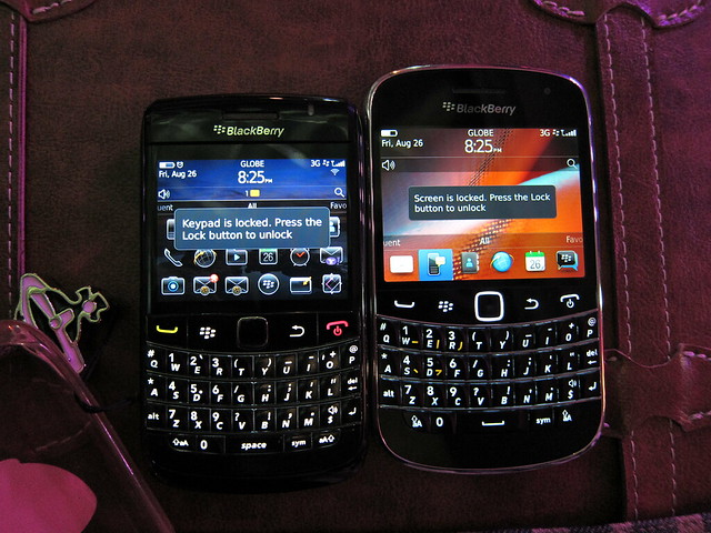 Blackberry 9780 vs. 9900