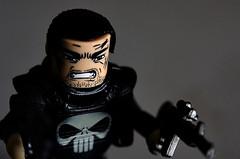 The Punisher (ehkxbox) Tags: lighting macro castle closeup comics frank asian toys skull bahrain nikon emotion sb600 xbox east middle nikkor marvel pinoy kix punisher 28105mm minimates strobist d7000