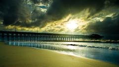 Morning sunrise after Hurricane Irene (Matthew Trudeau Photography) Tags: sun beach water sunrise sony southcarolina myrtle alpha sonya200 dslra200 sonyalphaa200 sonyalpha200 sonyalphadslra200 rftrudeau