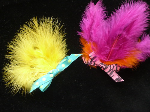 Feathered Fascinators (Hair Clips)