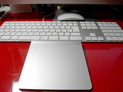 AppleKeyboardとMagic Trackpad