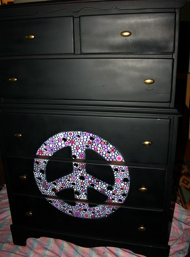 Six Drawer Dresser by Rick Cheadle Art and Designs