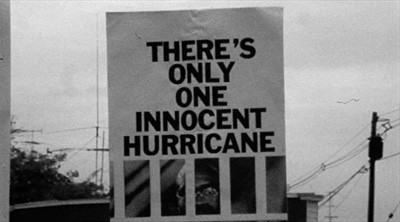 The Hurricane sign
