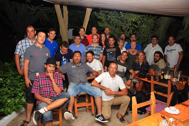 """III aniversario """"Flickeros de Ibiza""""."""