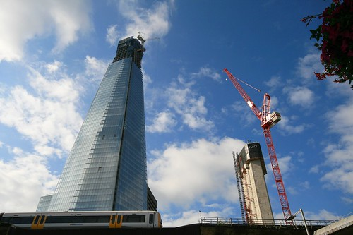 The Shard and The Place, London Bridge