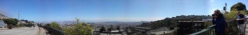 Panoràmica des de Twin Peaks