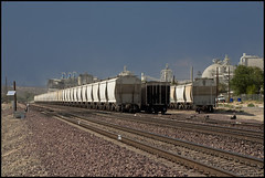 Hopper Line (K-Szok-Photography) Tags: california railroad canon route66 socal 5d canon5d canondslr railcars railroads canon70200f4l hoppers railroadcars railroadcar alltrains adifferentpointofview deserttrains sbcusa alltypesoftransport aphotographersnature kenszok