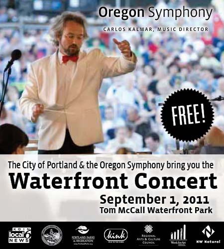 Thursday: Free Oregon Symphony Concert @ Portland Waterfront Park | 15,000+ People, Fireworks, Cannons, Dancers