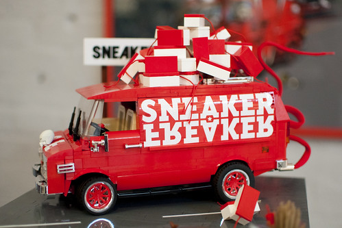 Custom minifig SNEAKERNESS 2011 Amsterdam