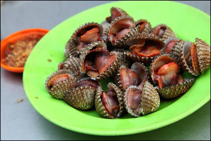 Melaka Food boiled-cockles