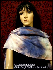 IMG_0009 (Shaylati) Tags: hijab shayla handpaintedsilk ribbonnecklace collarnecklace