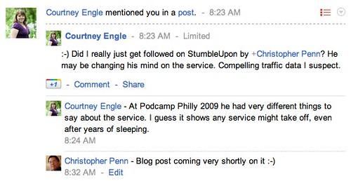 Notifications - Google+