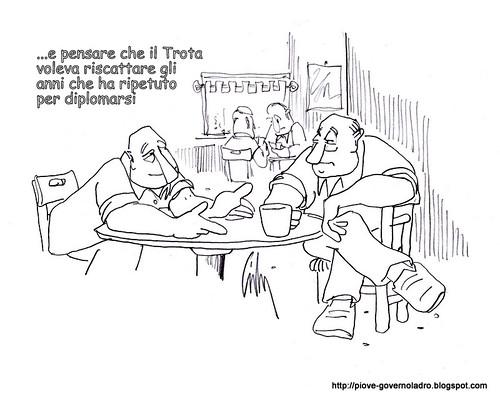 """Celodurismo Leghista...""""Le pensioni non si toccano!"""" by Livio Bonino"""