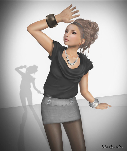 PH2 INDI DESIGNS - Top black + Skirt Top grey (shirt)_001_006