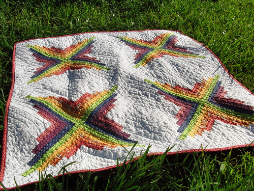 Color Burst Quilt (front)