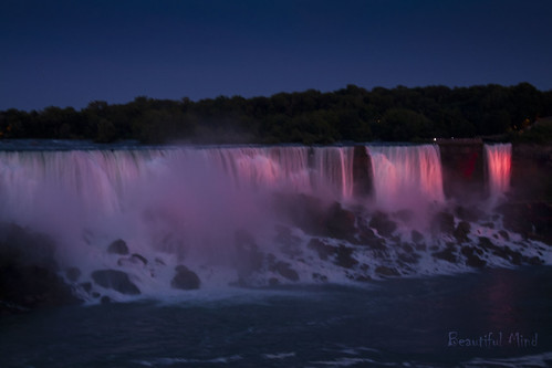 American falls at night_1