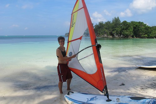 Beginner windsurf