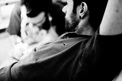 Tattoos (Riccardo Bergadano) Tags: bw white black film torino tattoos 1600 fujifilm to neopan turin bianco polo yashica nero atticus tatuaggio analogic tattooist pellicola fx3 sirmarcello riccardobergadano