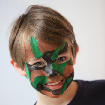 Halloween Camouflage Face Paint Kits