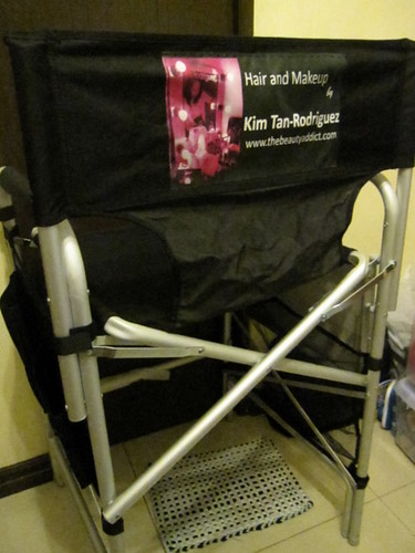 Aluminum Makeup Chair