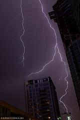 Tower Lightning in Toronto- Aug 2011 (Apollo X) Tags: toronto ontario canada storm clouds thunderstorm lightning apollox 5dmarkii robbutterwick apolloxproductions