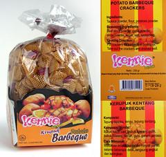 Krupuk Kennie, BBQ flavor