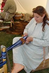 Weaving (canadianlookin) Tags: history festival iceland manitoba celebration reenactment gimli icelandicfestival islendingadagurinn