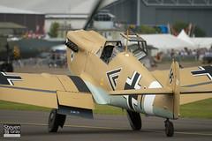 G-AWHE - 67 - Magnificent Obsessions Ltd - Hispano HA.1112-M1L Buchon - 110710 - Duxford - Steven Gray - IMG_7164