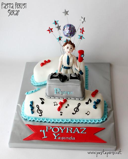 Dj 1Yaş pastası- poyraz