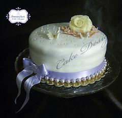 Elegant cake (SweetArt Cake Design) Tags: cake elegant torta elegante