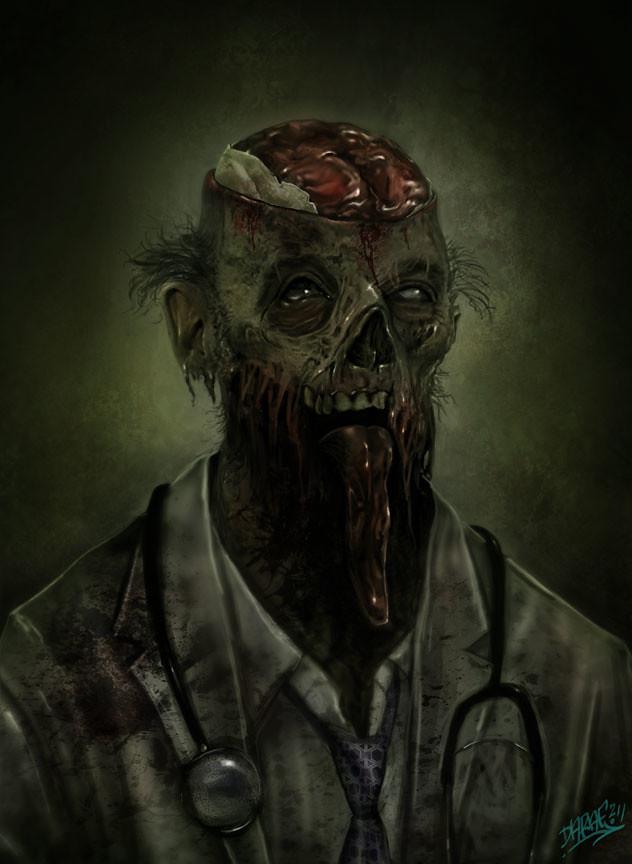 Doctor-Zombie_concept