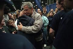 911: President George W. Bush Visits New York,...