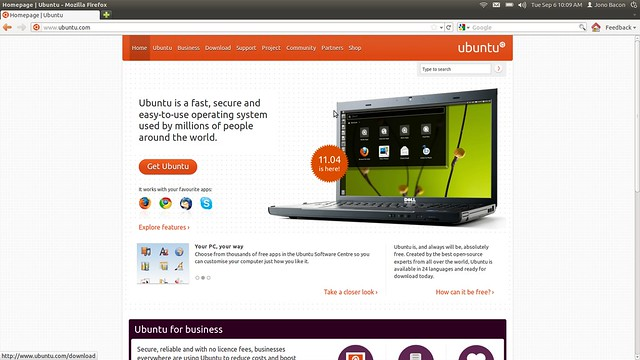 Menu Discoverability In Ubuntu 11 10 - Jono Bacon