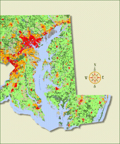 map from PlanMaryland (by: MD Dept of Planning)
