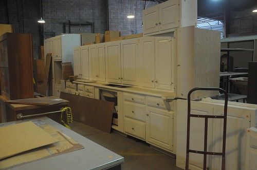 Cabinets at Community Forklift
