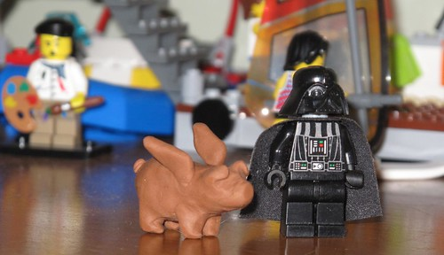 Vader VS. Winged Pork