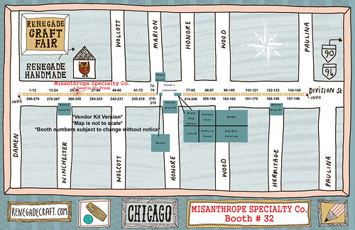 Chicago vendor Map